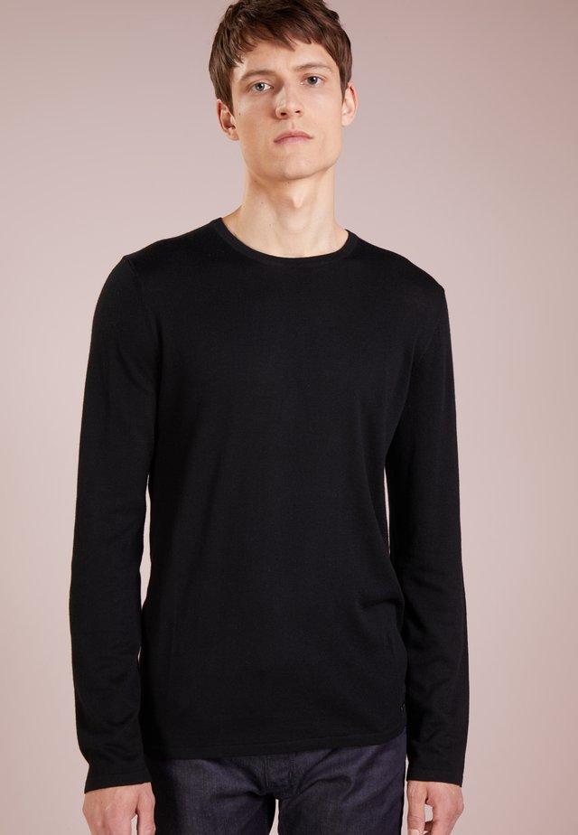 SAN BASTIO - Pullover - black