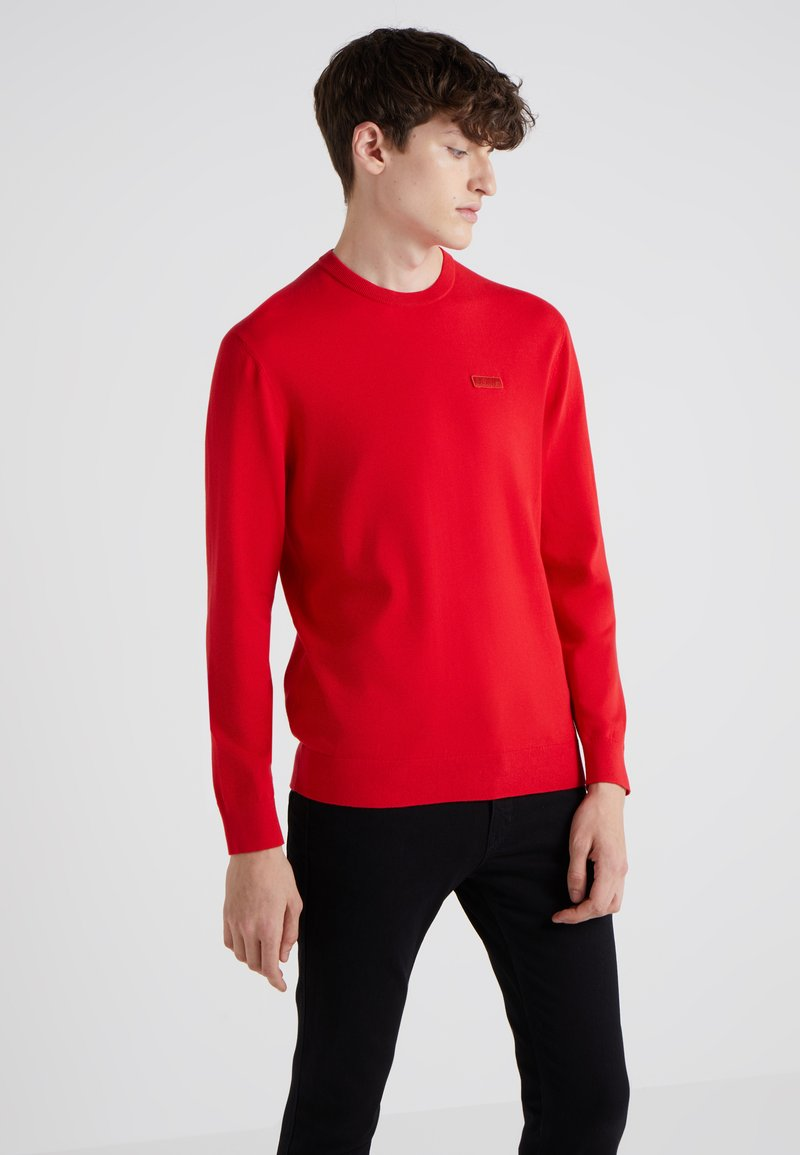 HUGO - SAN CLAUDIO - Strickpullover - red