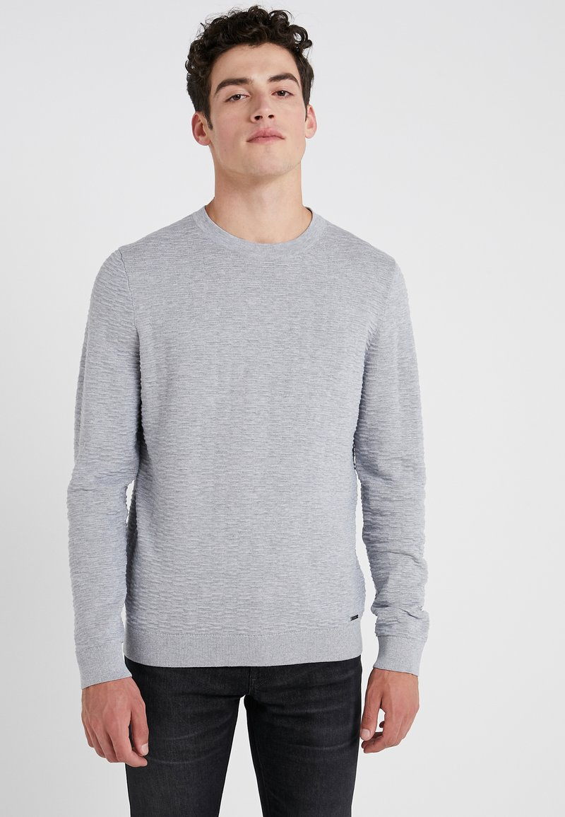 HUGO - SIGSON - Trui - medium grey