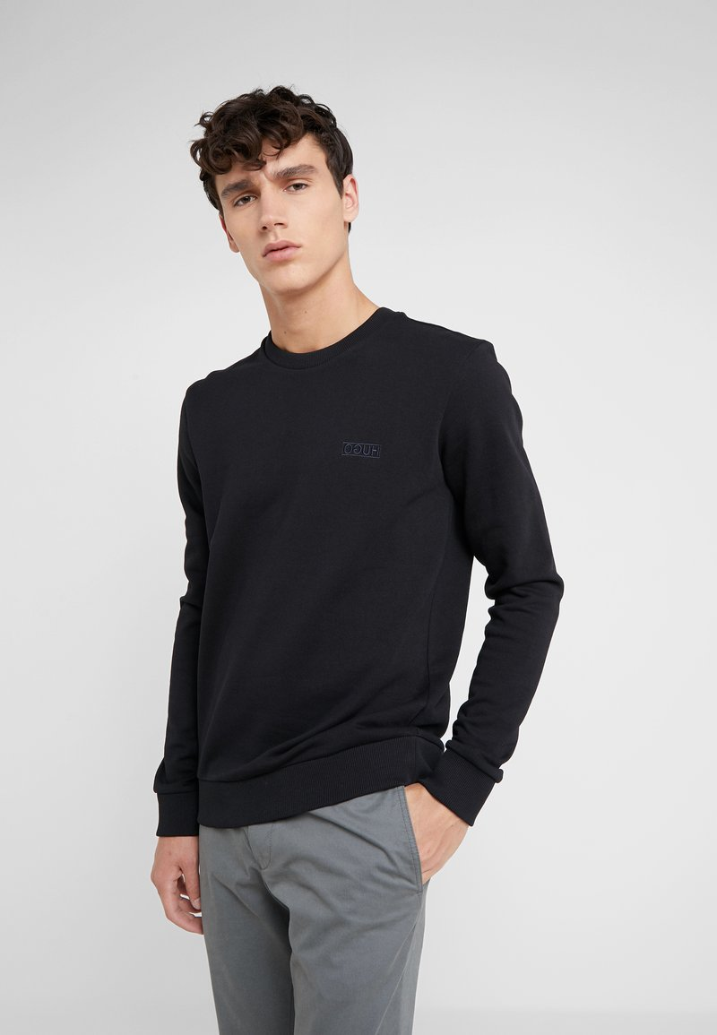 HUGO - DRICK - Sweatshirt - black