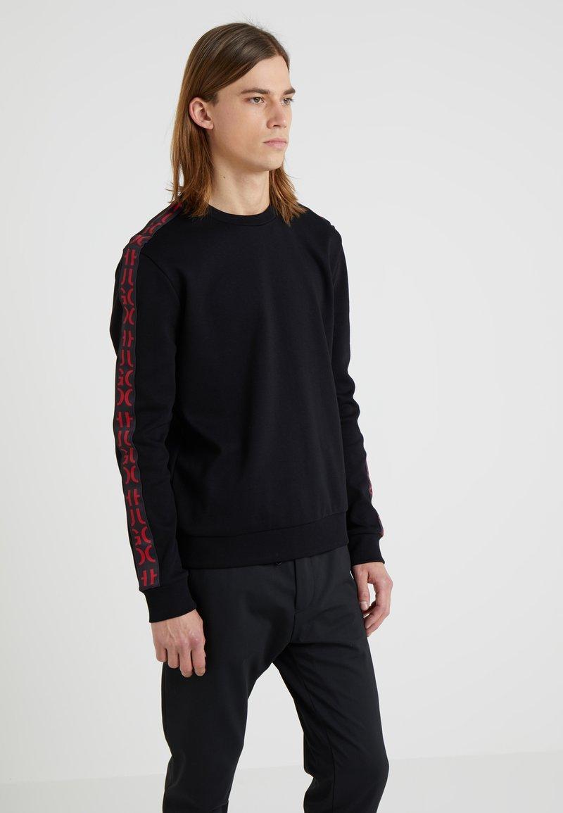 HUGO - DOBY - Long sleeved top - black