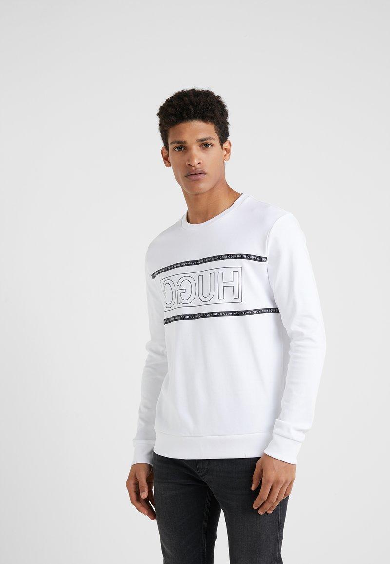 HUGO - DICAGO - Sweatshirt - white