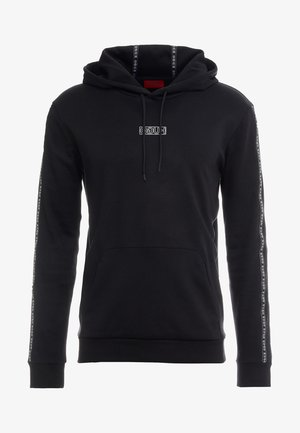 DERCOLANO - Sweat à capuche - black