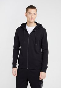 HUGO - DAPLE - Zip-up hoodie - black - 0