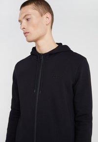 HUGO - DAPLE - Zip-up hoodie - black - 4