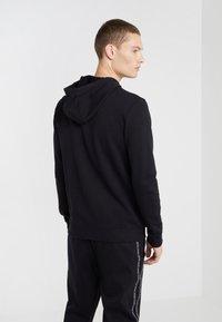 HUGO - DAPLE - Zip-up hoodie - black - 2