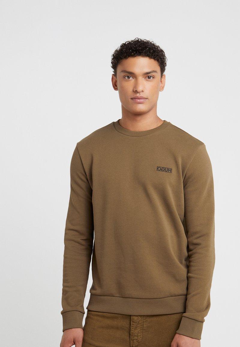 HUGO - DRICK - Sweater - dark green