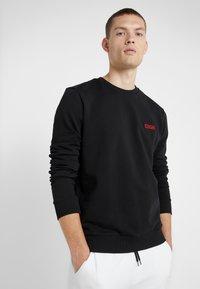 HUGO - DRICK - Sweatshirt - black - 0
