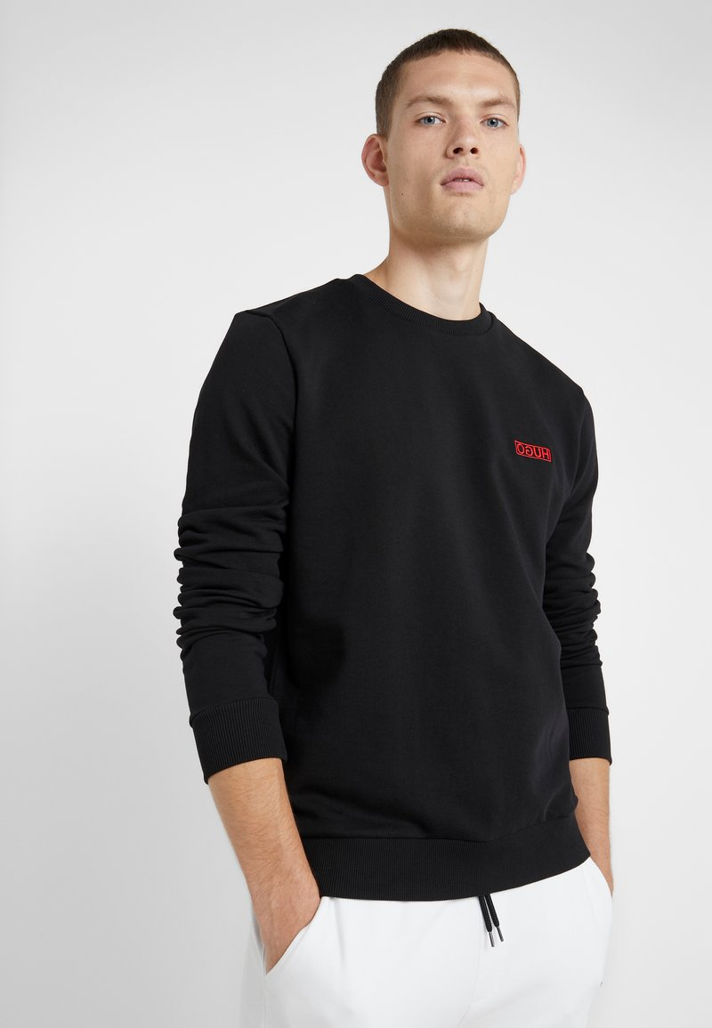 HUGO - DRICK - Sweatshirt - black