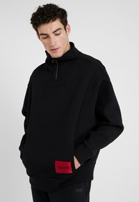 HUGO - DAIPEH - Sweatshirt - black - 0