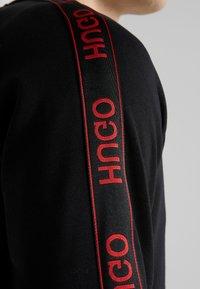 HUGO - DALKUTTA - Hoodie met rits - black - 5