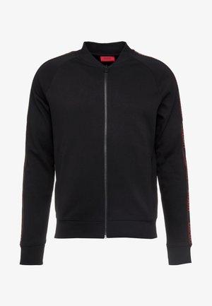 DALKUTTA - veste en sweat zippée - black