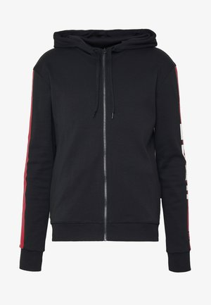 DALZ  - veste en sweat zippée - black