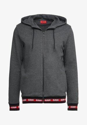 DAPLE - Zip-up hoodie - open grey