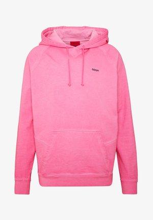 DERRAINE - Mikina skapucí - bright pink
