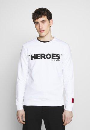 DEROES - Sweatshirt - white