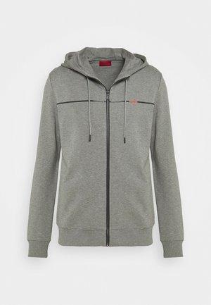 DAPIE - veste en sweat zippée - open grey
