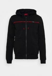 HUGO - DAPIE - Zip-up hoodie - black - 5