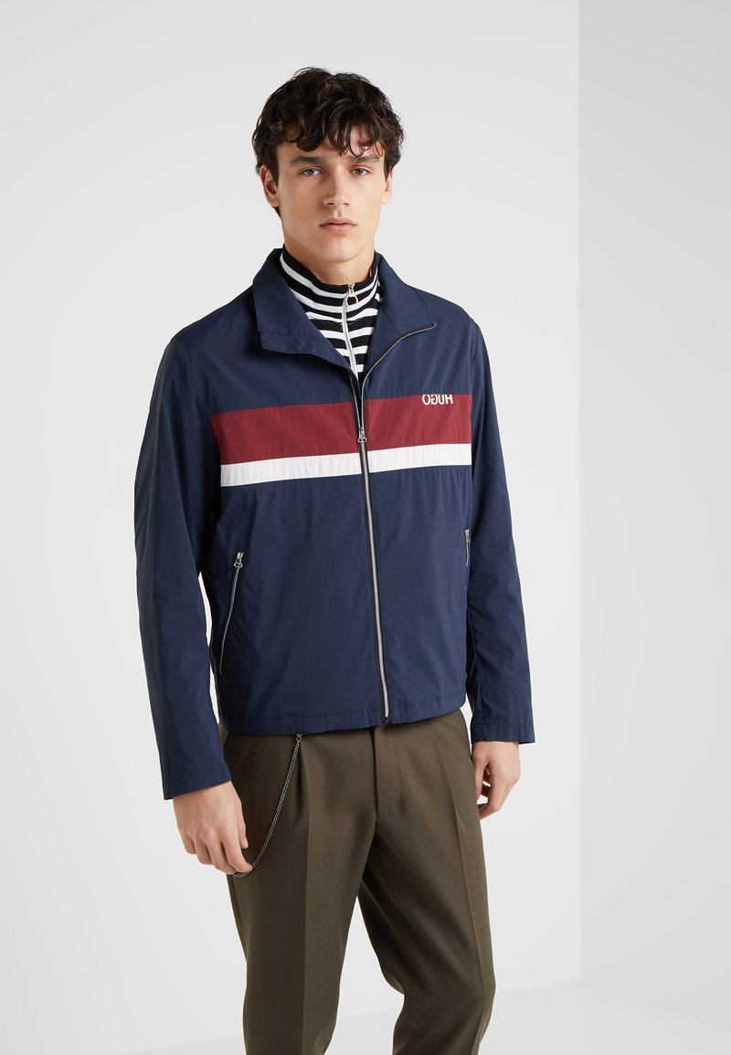 HUGO - BILL - Summer jacket - dark blue