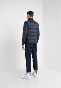 HUGO - BALTO - Down jacket - navy with red - 2
