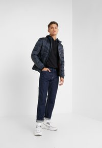 HUGO - BALTO - Down jacket - navy with red - 1