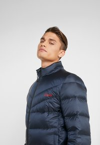 HUGO - BALTO - Down jacket - navy with red - 3