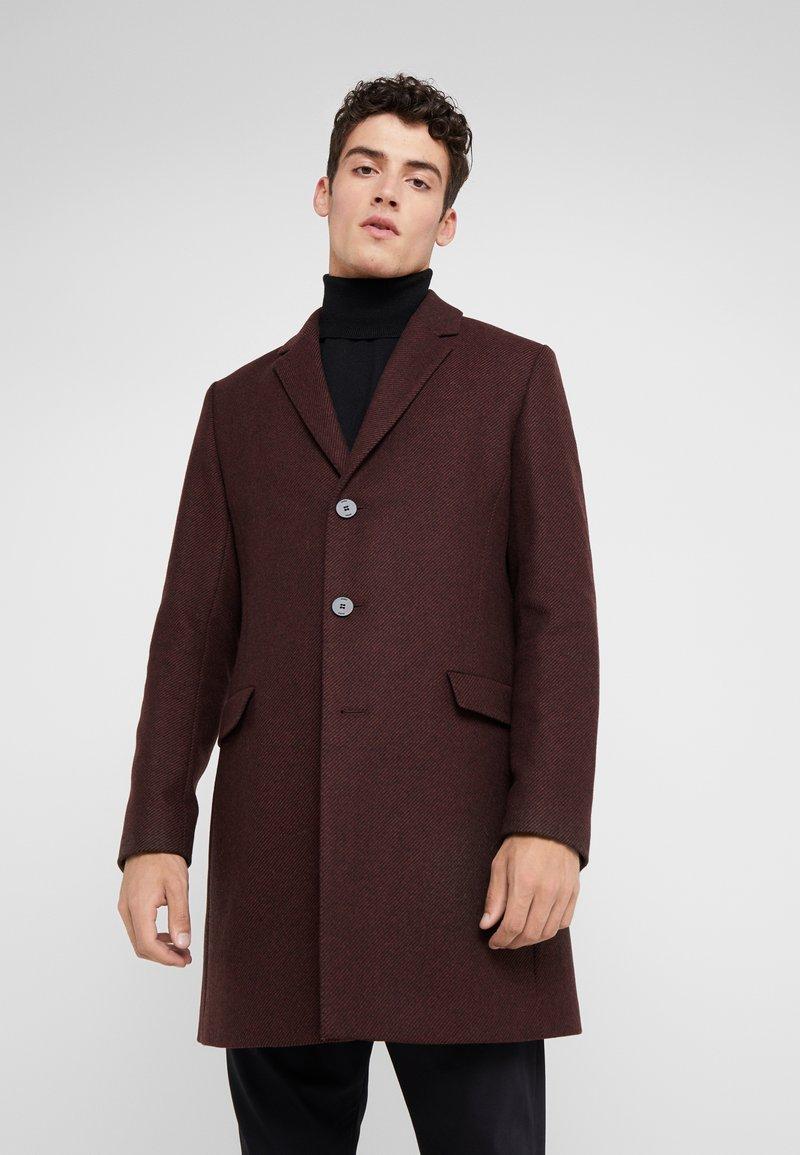 HUGO - MIGOR - Short coat - rust/copper red