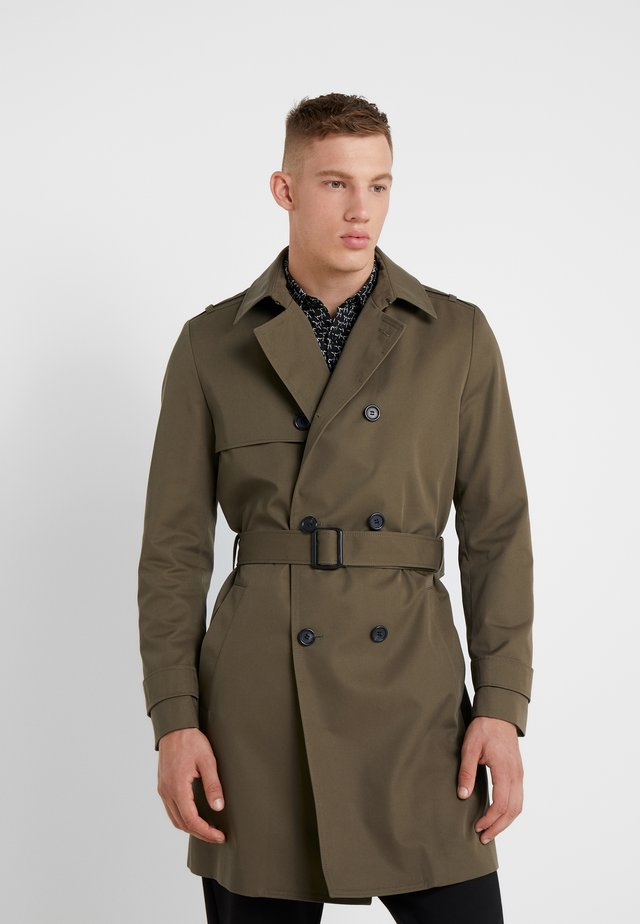 MALUKS - Trenchcoat - dark green