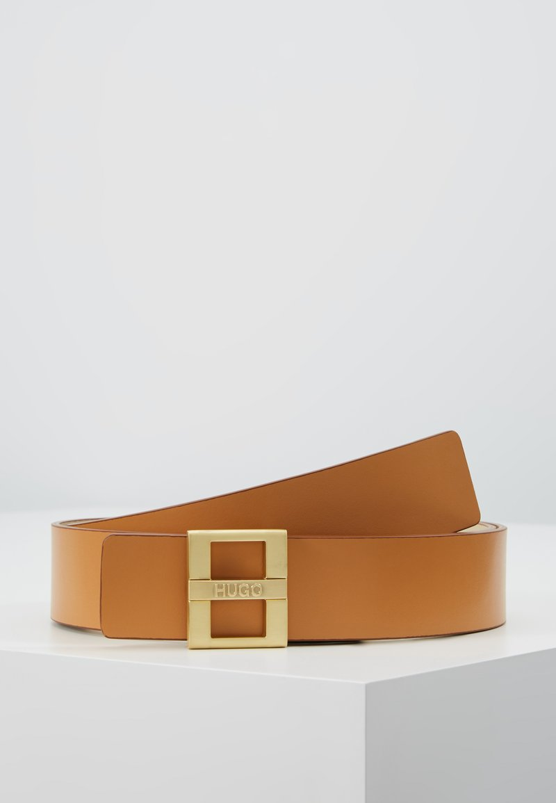 HUGO - ZITA BELT - Pásek - light beige