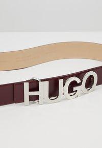 HUGO - ZULA BELT  - Pásek - red - 4
