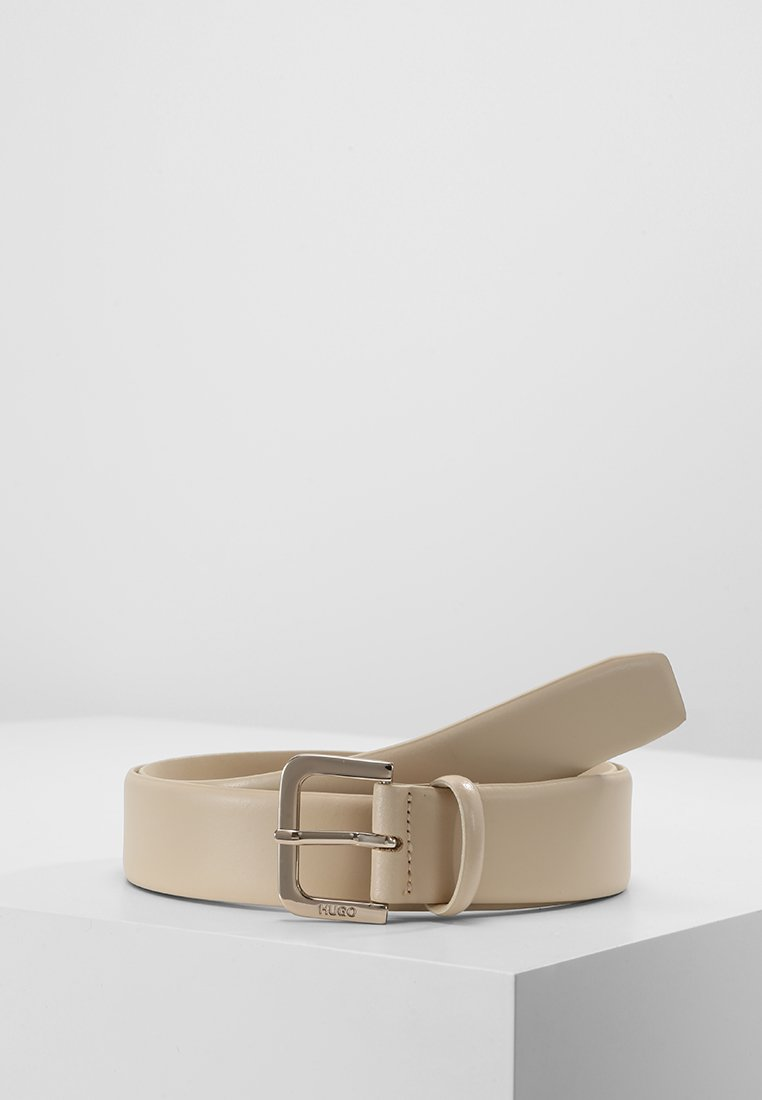HUGO - ZANA BELT  - Gürtel - light beige