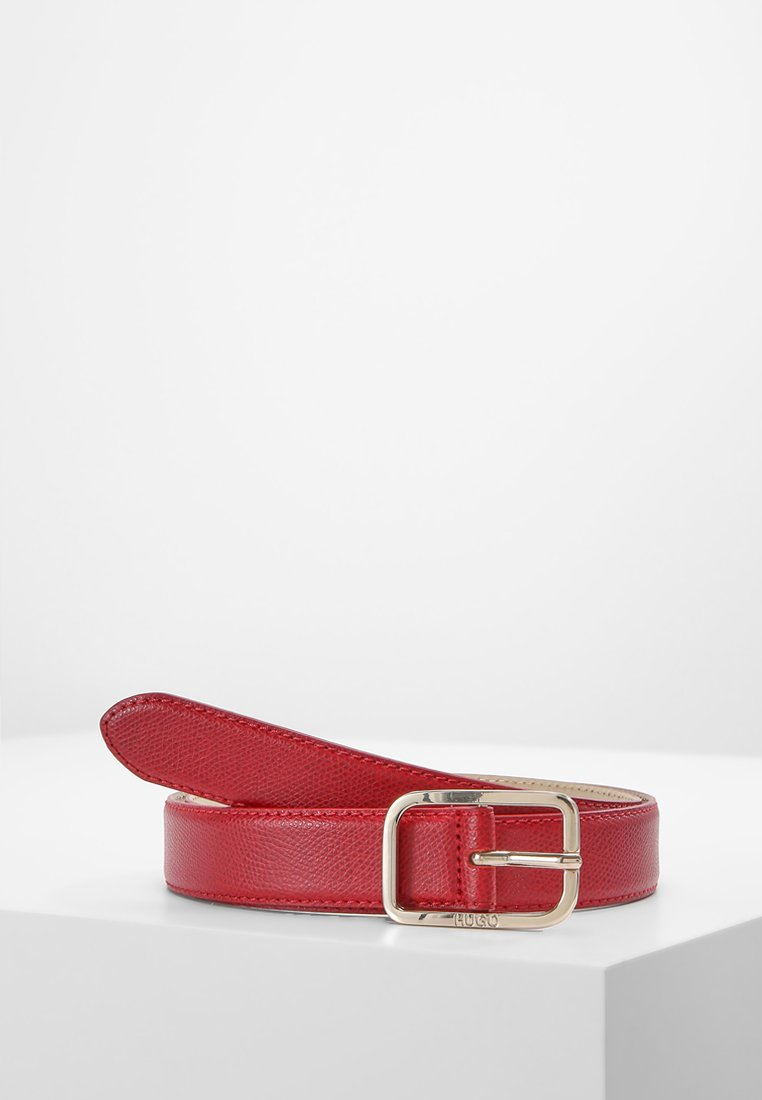 HUGO - ZAIRA BELT - Pásek - bright red