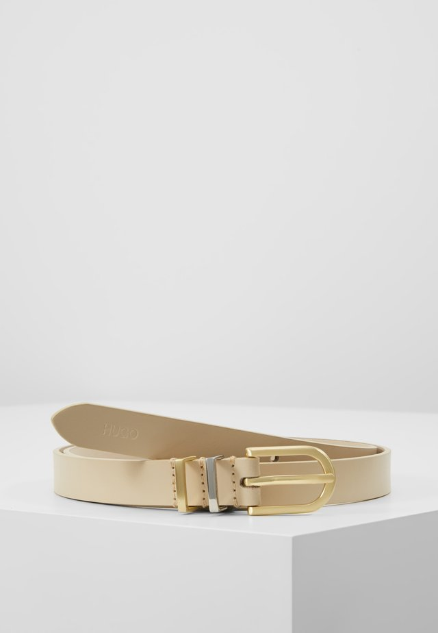 ZOE BELT - Bælter - light beige