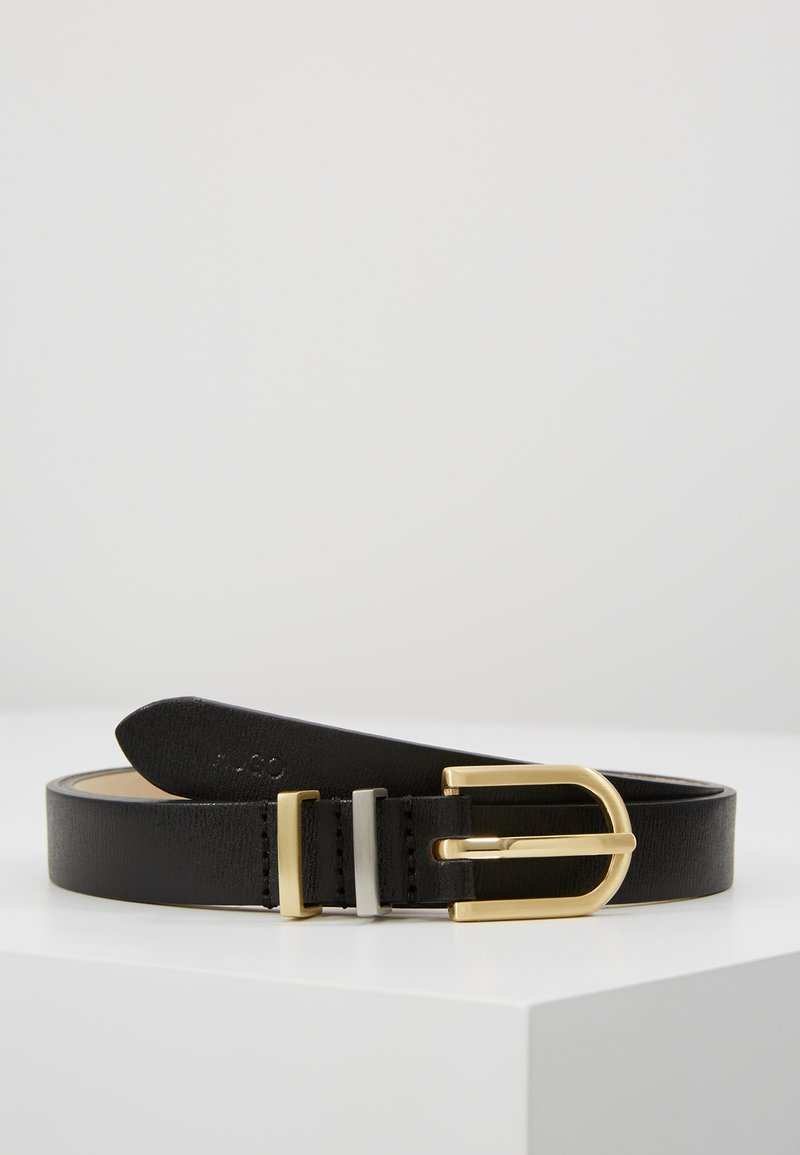 HUGO - ZOE BELT - Ceinture - black