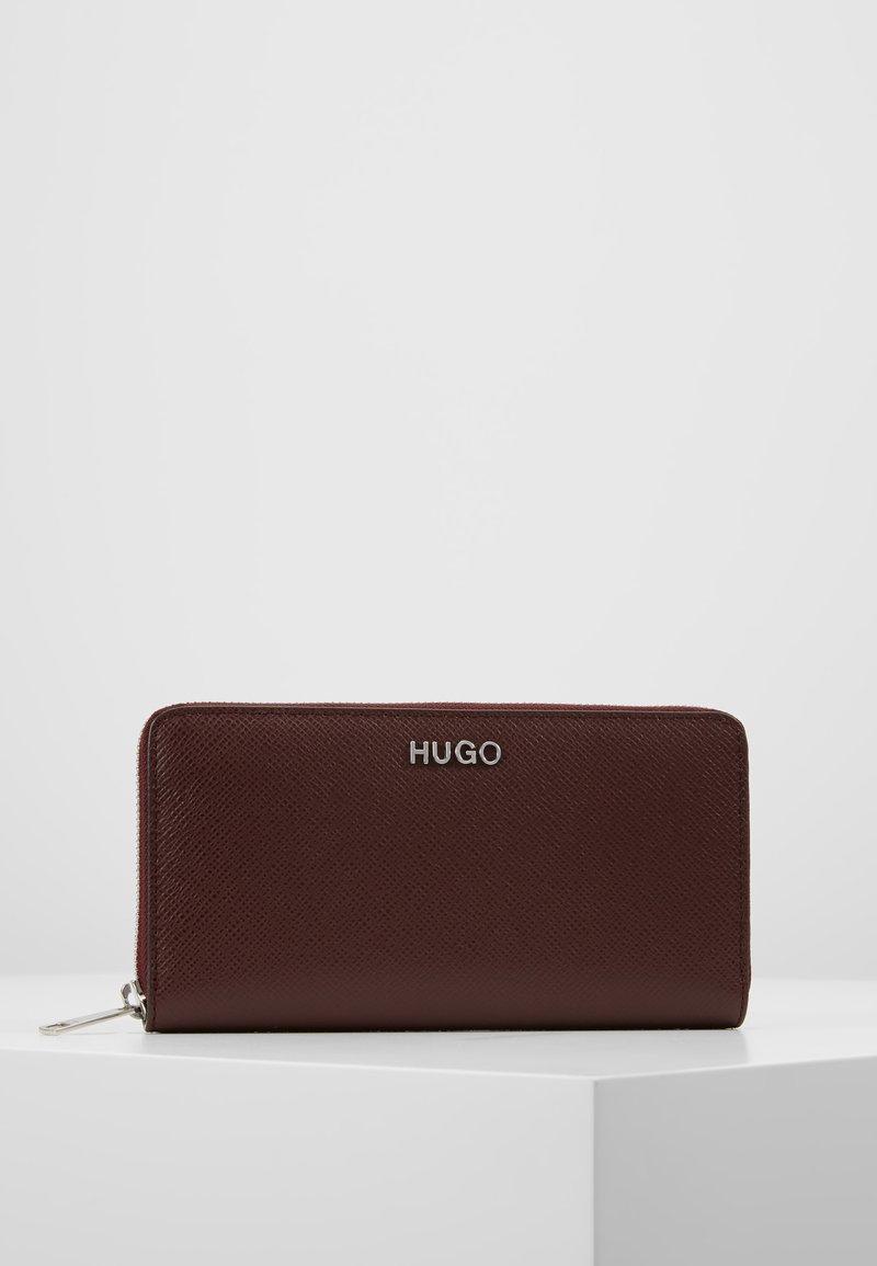 HUGO - VICTORIA ZIPAROUND - Punge - dark brick red