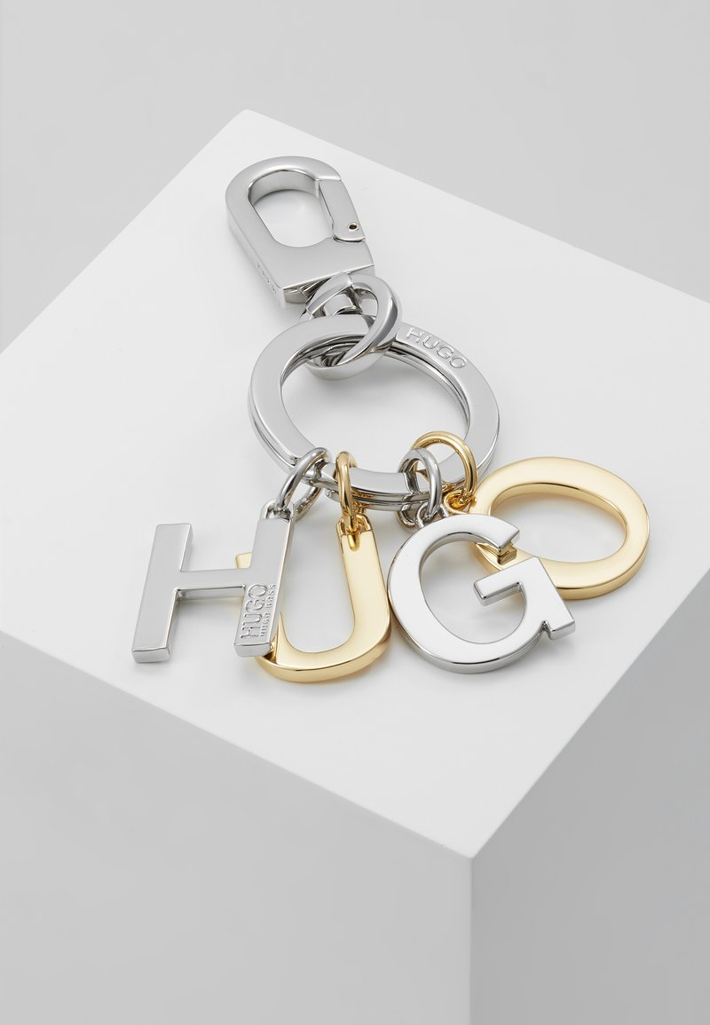 HUGO - LEYTON KEYRING - Klíčenka - silver-coloured