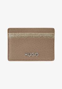 HUGO - VICTORIA CARD HOLDER - Pouzdro na vizitky - gold-coloured - 1