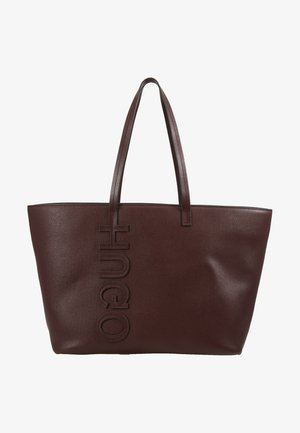 CHELSEA - Shopper - dark brick red