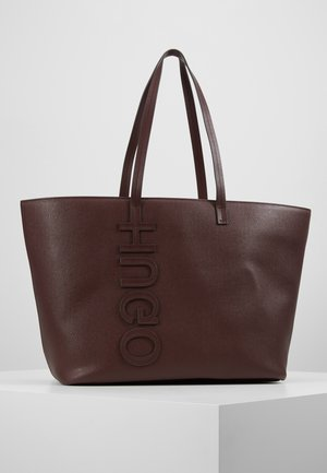 CHELSEA - Shopping bag - dark brick red
