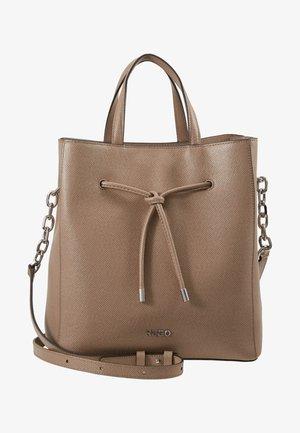 VICTORIA DRAWSTRING - Handbag - sand