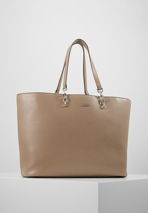 VICTORIA TOTE - Shopping Bag - sand