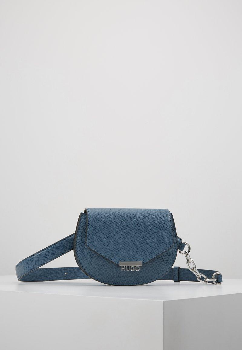 HUGO - VICTORIA BELTBAG - Bum bag - uniform blue