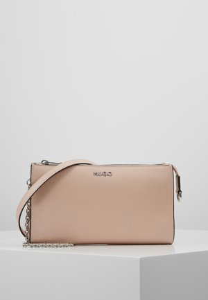 VICTORIA MINI BAG - Bandolera - nude
