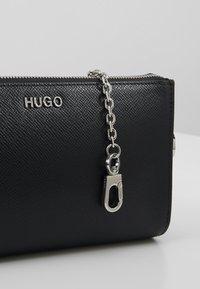 HUGO - VICTORIA MINI BAG - Taška spříčným popruhem - black - 6