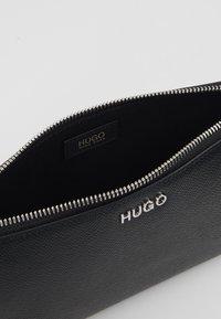 HUGO - VICTORIA MINI BAG - Taška spříčným popruhem - black - 4