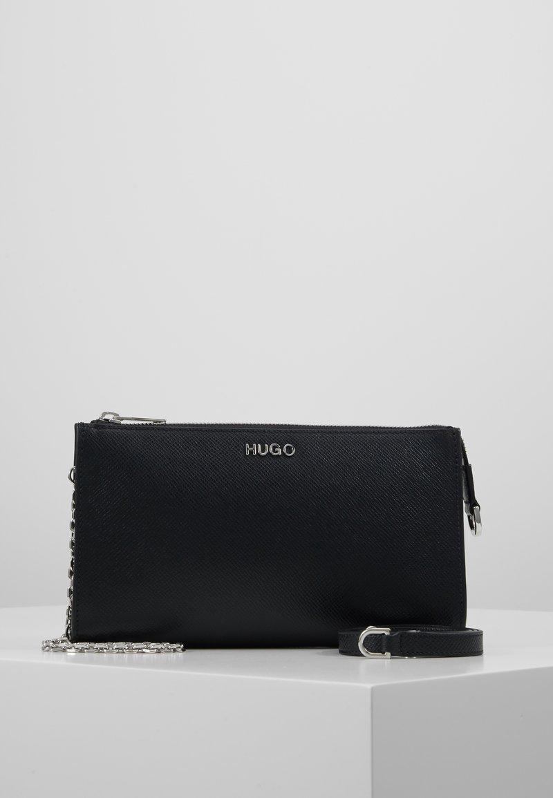 HUGO - VICTORIA MINI BAG - Taška spříčným popruhem - black