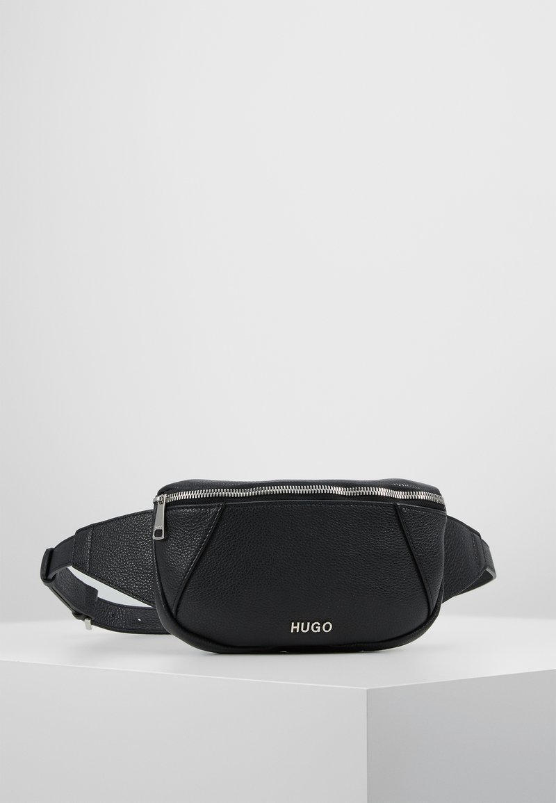 HUGO - MAIDEN BELT BAG - Ledvinka - black
