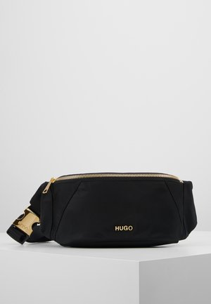 MEGAN BELTBAG - Sac banane - black