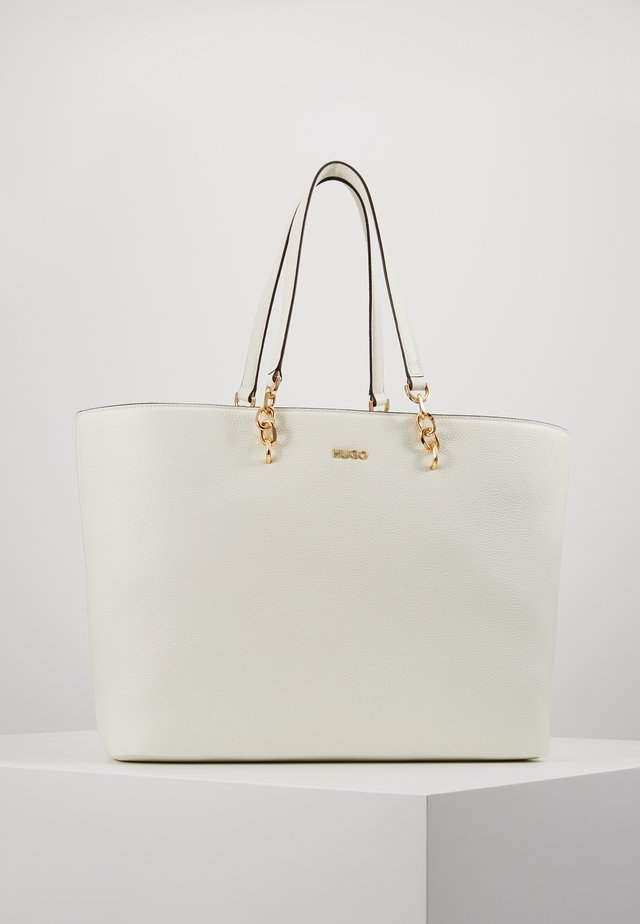VICTORIA CHAIN - Shopping Bag - white