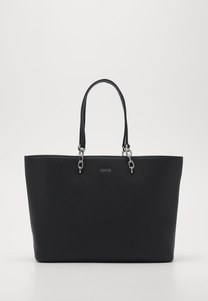 HUGO - VICTORIA CHAIN - Shopping Bag - black